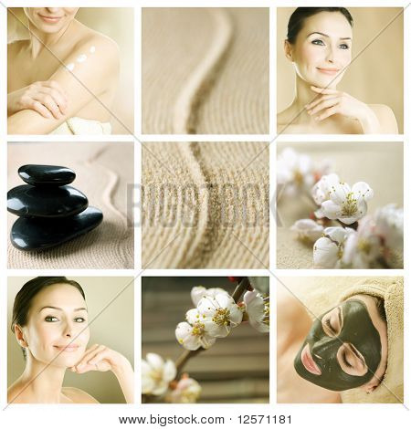 Hermoso Spa Collage