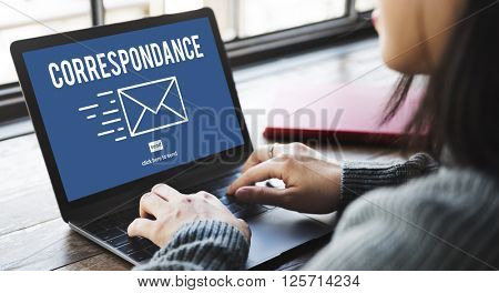 Correspondence E-mail Connection Online Messaging Concept