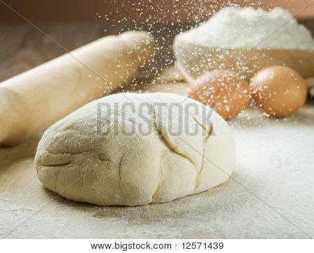 Brot Cooking.Dough