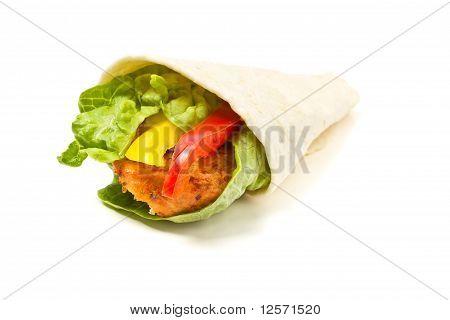 Spicy Chicken Wrap