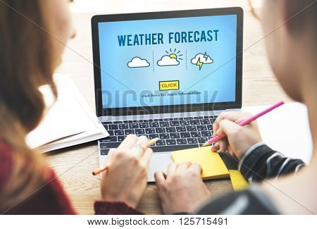 Weather Forecast Nature Climate Change Concept