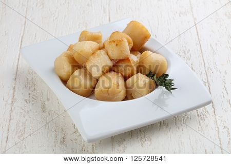 Roasted Scallops