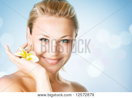 Spa Girl's face
