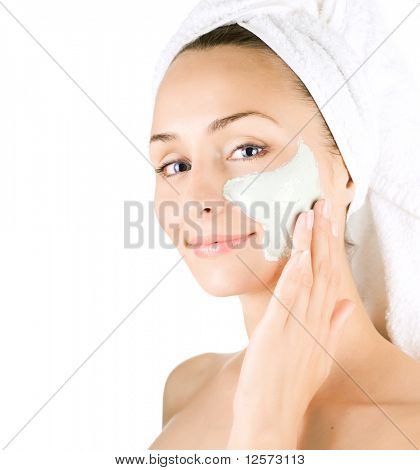 Spa Gesichtsbehandlung Mask.Day-spa