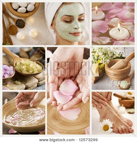 Belas Spa Collage