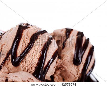 Ice Cream border.Isolated on white