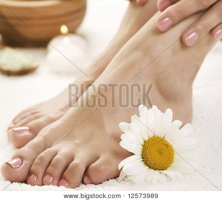 Pés Spa.Pedicure