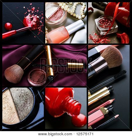 Professional Make-up-collage