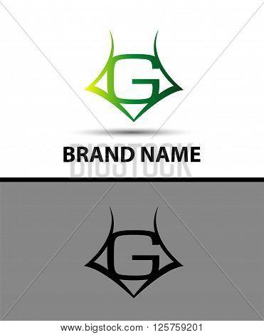 Letter G logo. Business logo vector illustration