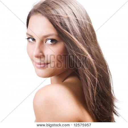 Beautiful Healthy Girl portrait