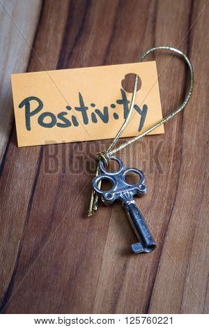 Secret Key For A Positive Life