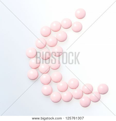 Vitamins closeup. Health concept. Health care. Biologically active additives