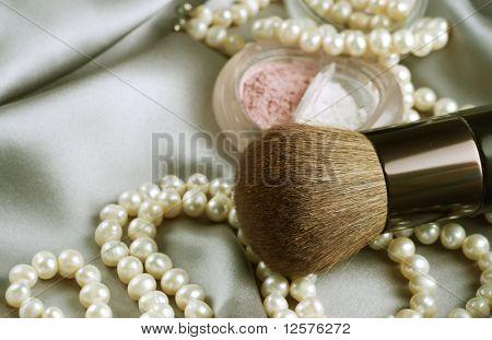 Make-up.Makeup accessories