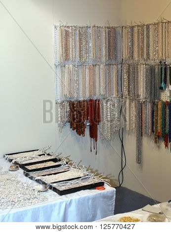 Many Fine Necklace For Sale In The Shop Of Jewellery And Costume Jewellery