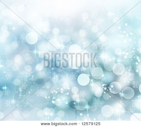 Abstract Winter background.christmas abstrakt bokeh