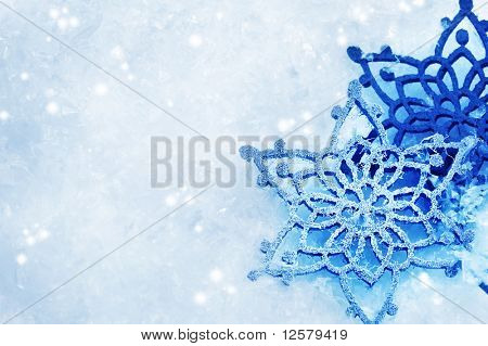 Winter Snow Background.Snowflakes