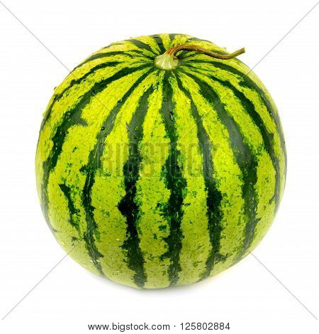 A water melon isolated on white background