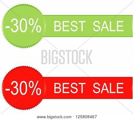 30 percent sale icons design vector illustration