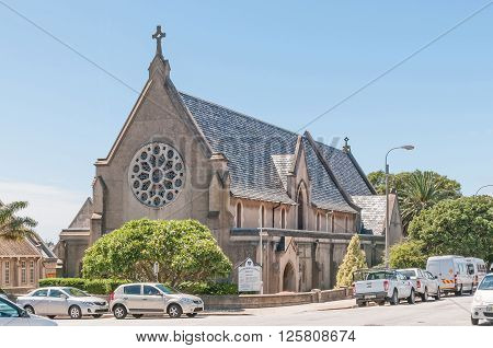 PORT ELIZABETH SOUTH AFRICA - FEBRUARY 27 2016: The historic Saint Cuthberts Gray Memorial Church was consecrated in March 1884