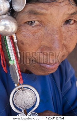 MAE SALONG,  CHIANG RAI province , THAILAND - JUN, 2004 : 