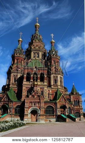 Cathedral of saints apostles Peter and Paul. St. Petersburg