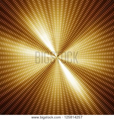 silver metal background with rays pattern