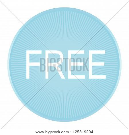 Vector of free tag free sign free label.