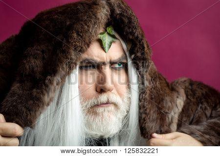 Zeus Man In Hood