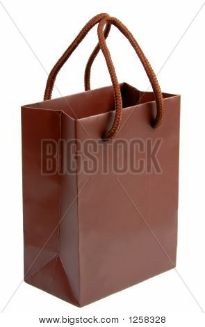 Brown Gift Bag