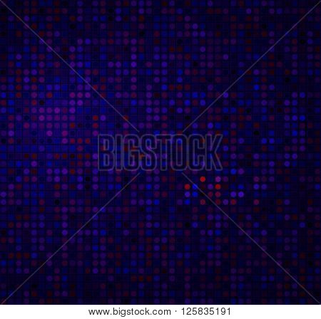 Abstract Seamless Chaotic Pattern With Geometric. Vector Trendy Style Patterns. Modern Stylish Textu