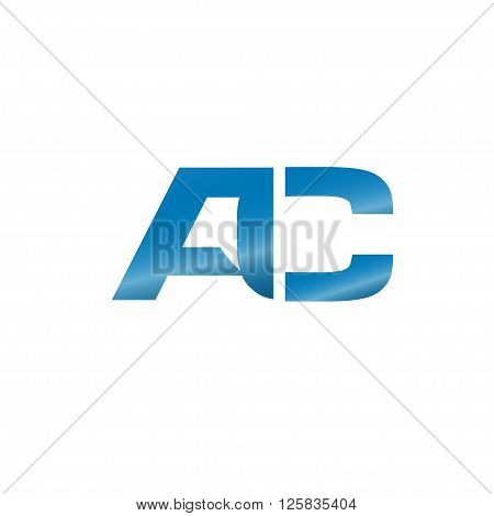 modern and elegant AC letter logo vector
