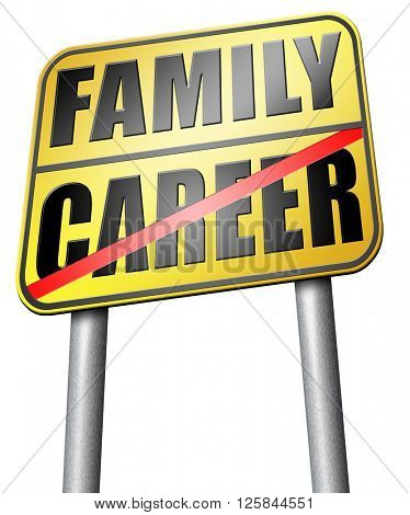 family versus career balance in work business and health leisure time change job direction move away from workaholic