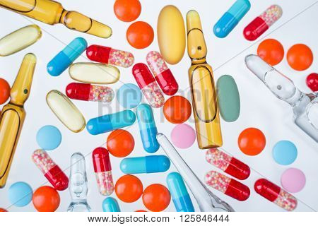 Ampoules And Pills