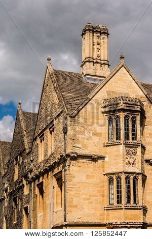 Medieval architecture in Oxford, Oxfordshire, England, UK