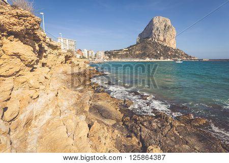 Penon de Ifach in Calpe Alicante Spain