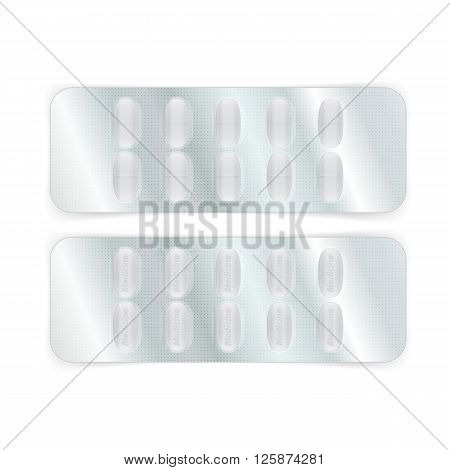 Oval Pills In Blister