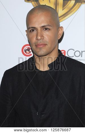 LAS VEGAS - APR 12: Jay Hernandez at the Warner Bros. Pictures Presentation during CinemaCon at Caesars Palace on April 12, 2016 in Las Vegas, Nevada