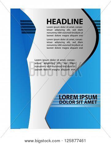 Advertising Design Template - Suitable for brochure design or website
