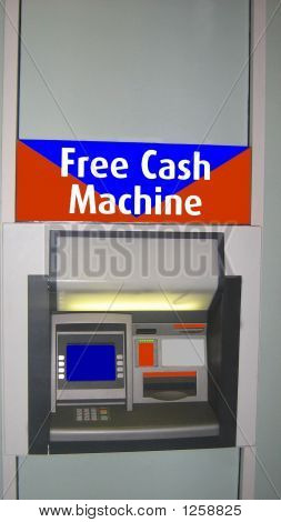 Free Cash Machine.Cashpoint.Atm.Hole In The Wall