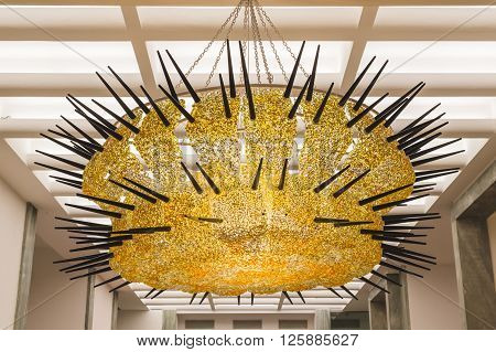 Chandelier On Display At Fuorisalone 2016 In Milan, Italy