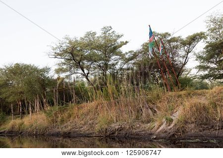 African Flags Over Kwando