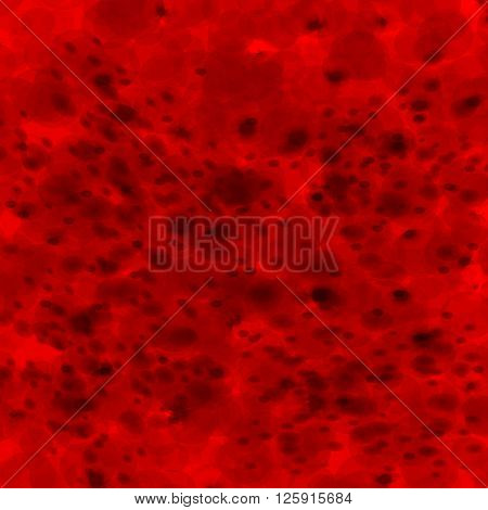 Vector illustration of abstract background infected red blood cells.