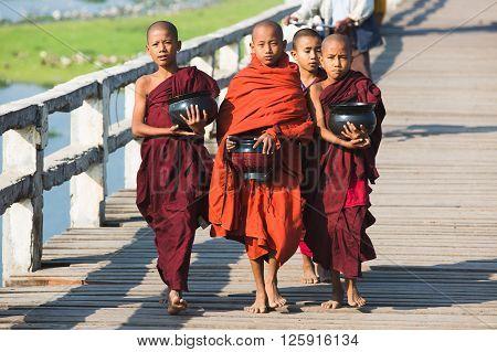 Boys Buddhist Monks