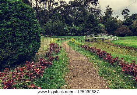 Nuwara Eliya, Sri Lanka. Queen Victoria Park. Victoria Park is located in the heart of the alpine resort of Nuwara Eliya - the