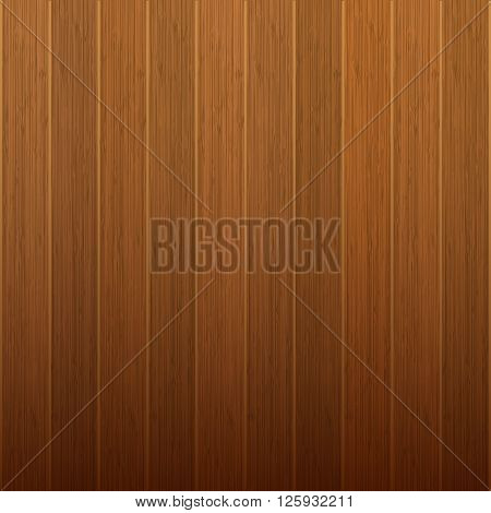 Wooden boards wood texture background. Vector illustration