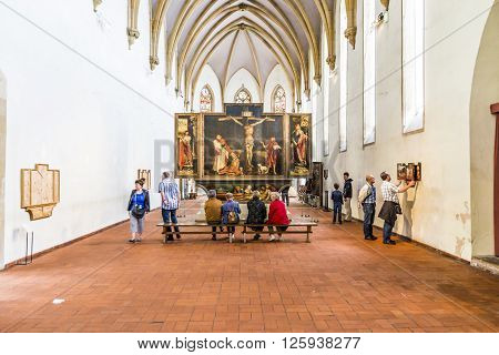 View To The Isenheim Altarpiece