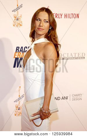 Edyta Sliwinska at the 23rd Annual Race To Erase MS Gala held at the Beverly Hilton Hotel in Beverly Hills, USA on April 15, 2016.