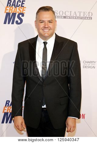 Ross Mathews at the 23rd Annual Race To Erase MS Gala held at the Beverly Hilton Hotel in Beverly Hills, USA on April 15, 2016.