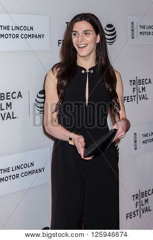 NEW YORK, NY - APRIL 16: Actress Eve Lindley attends the 'All We Had' Premiere during the 2016 Tribeca Film Festival at BMCC John Zuccotti Theater on April 15, 2016 in New York City.