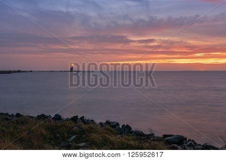 The Horse of Marken is a lighthouse on the Dutch peninsula Marken.